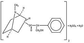 structural formula atropine sulfate