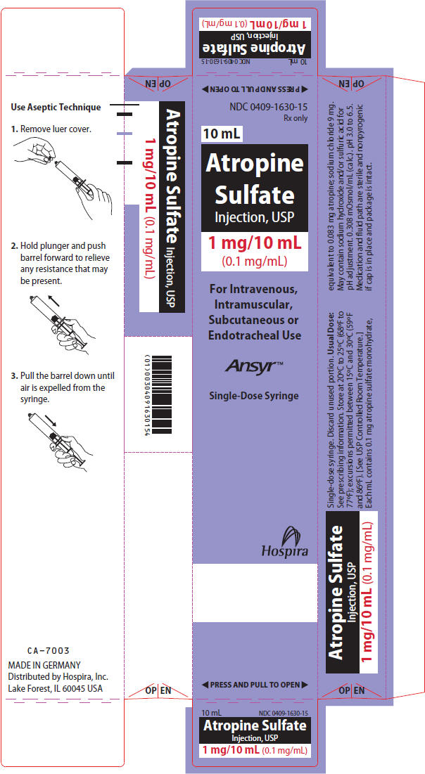 PRINCIPAL DISPLAY PANEL - 10 mL Syringe Carton
