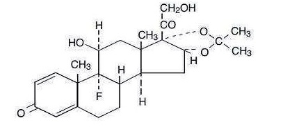 triamcinolone_structural_formula