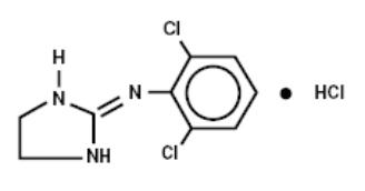 clonidine-structure