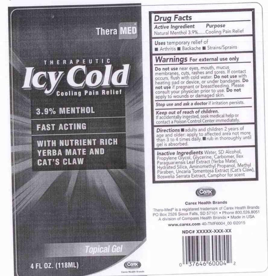 ICY COLD Cooling Pain Relief_Topical Gel
