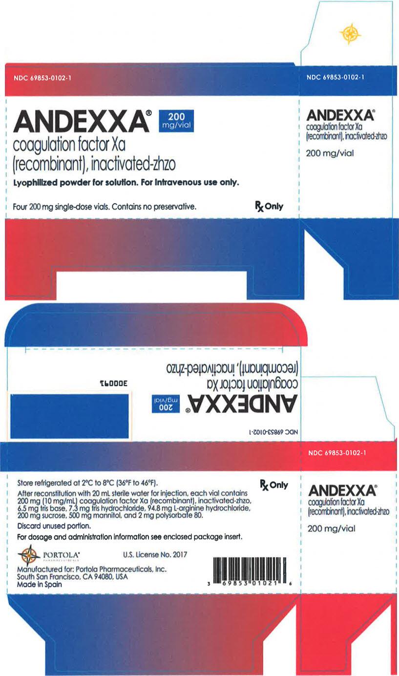 PRINCIPAL DISPLAY PANEL - 200 mg Vial Carton