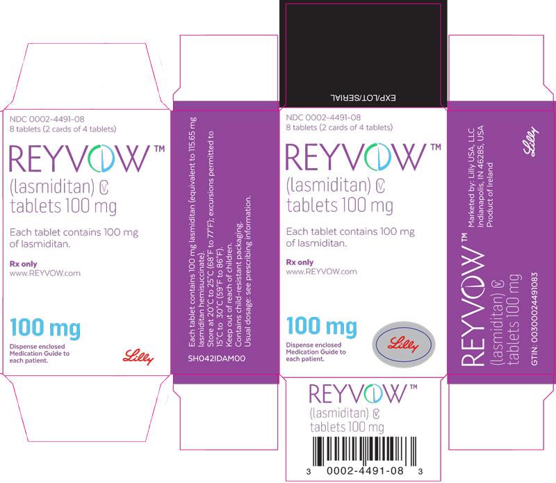 PDP Text – REYVOW 100 mg trade carton