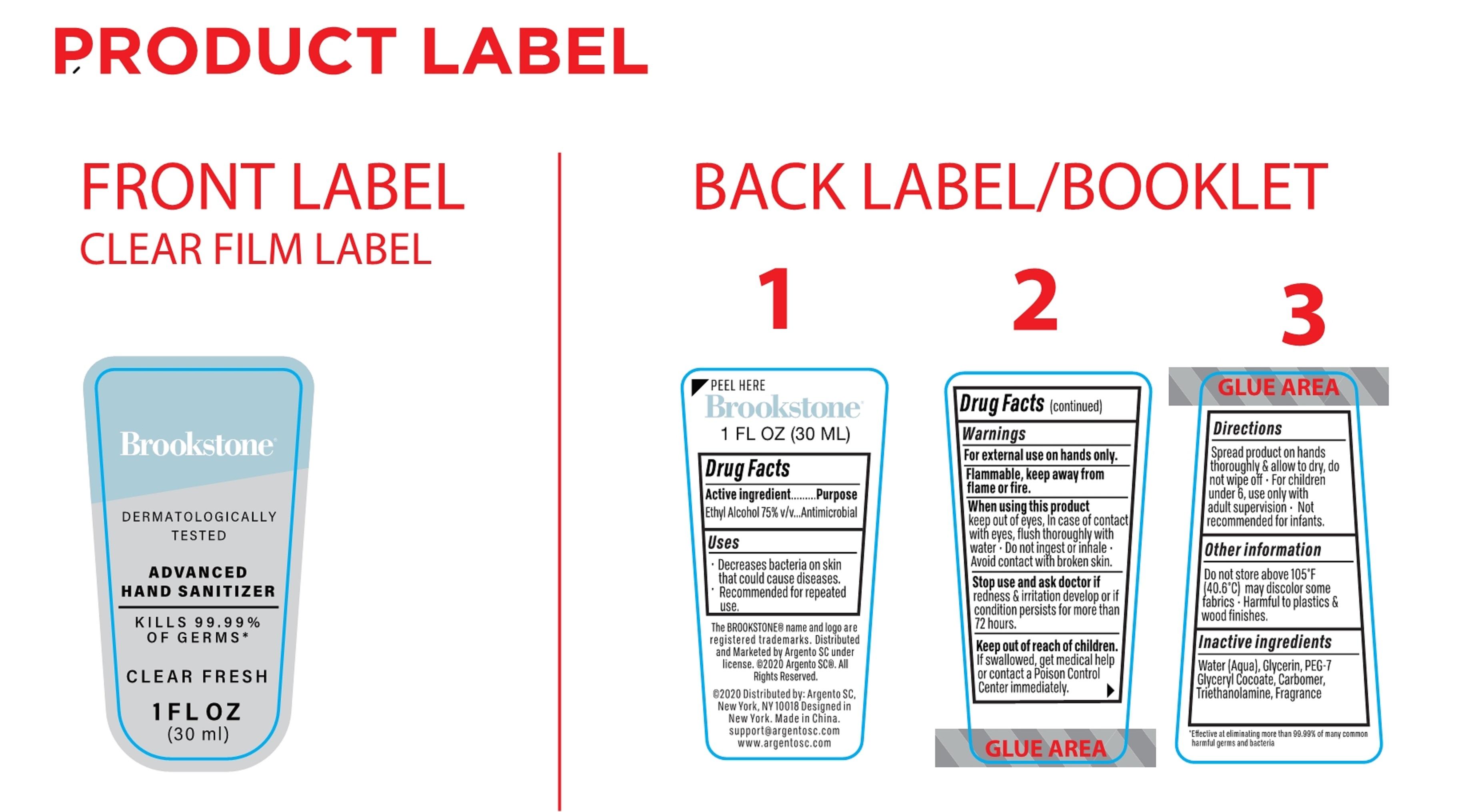 30 ml label