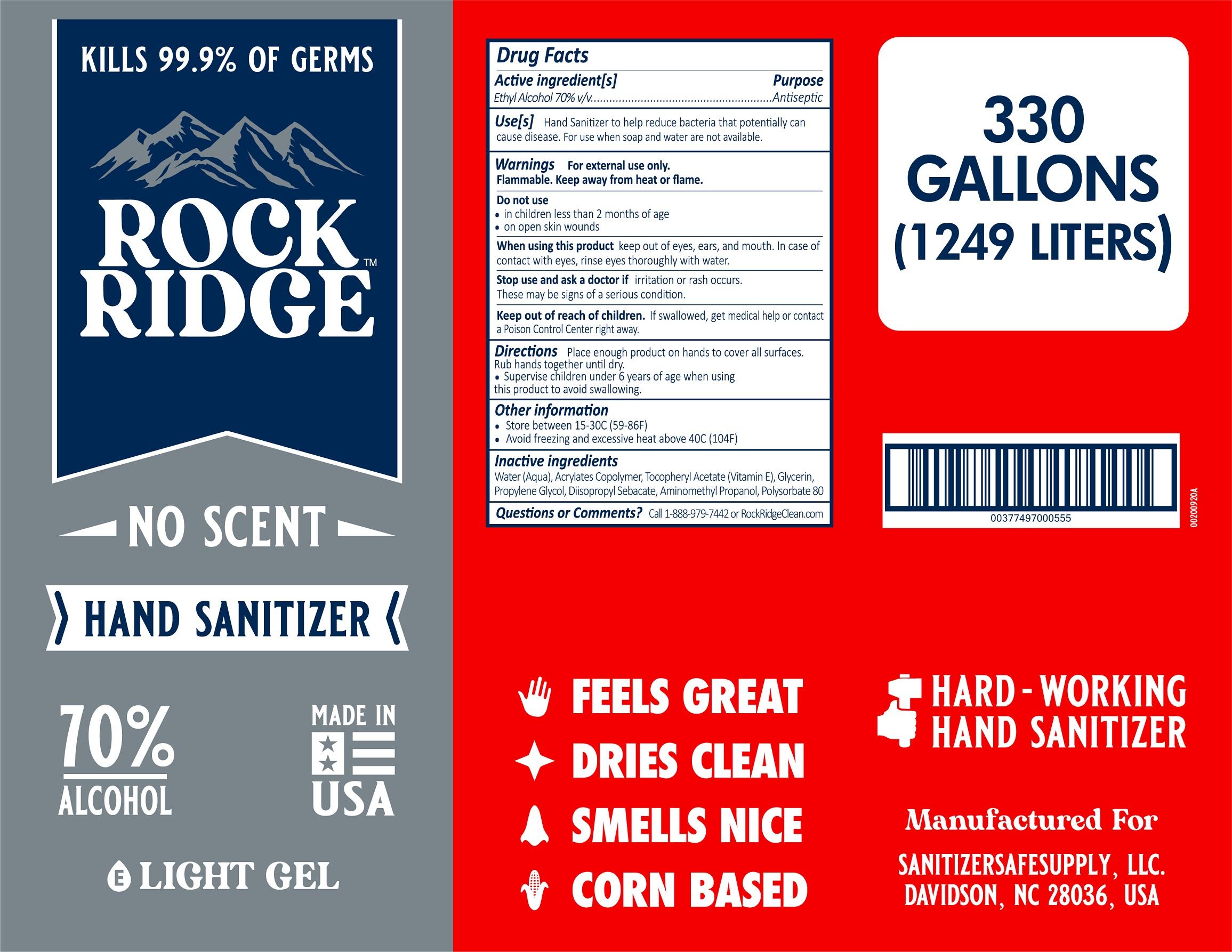 RockRidge Unscented 330gal