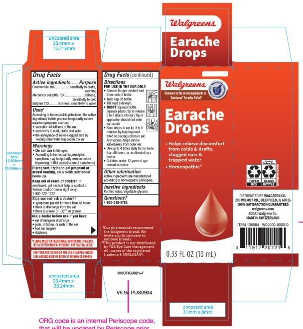 Earache Drops  0.33 FL OZ (10 mL)