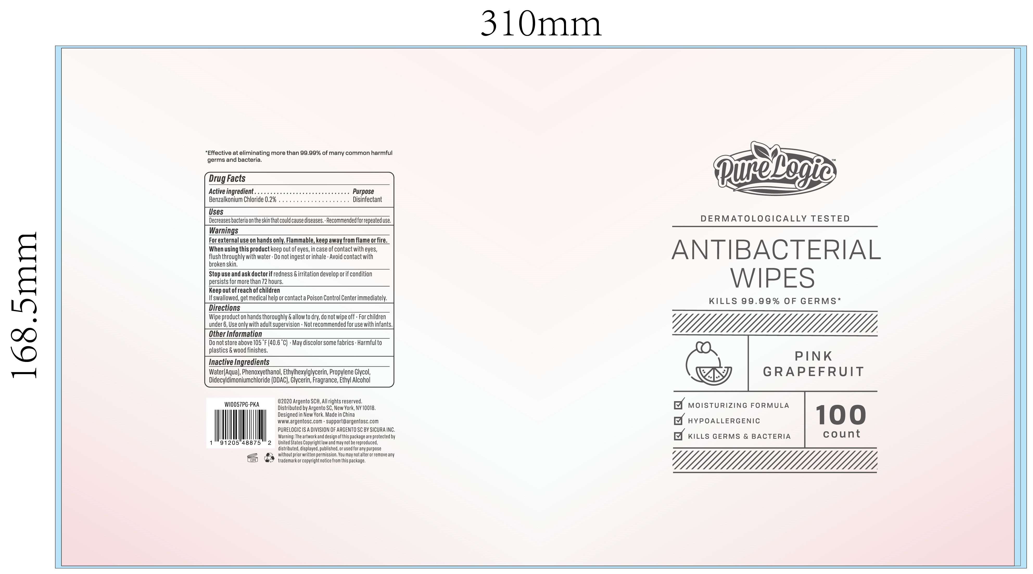 100 cloth label