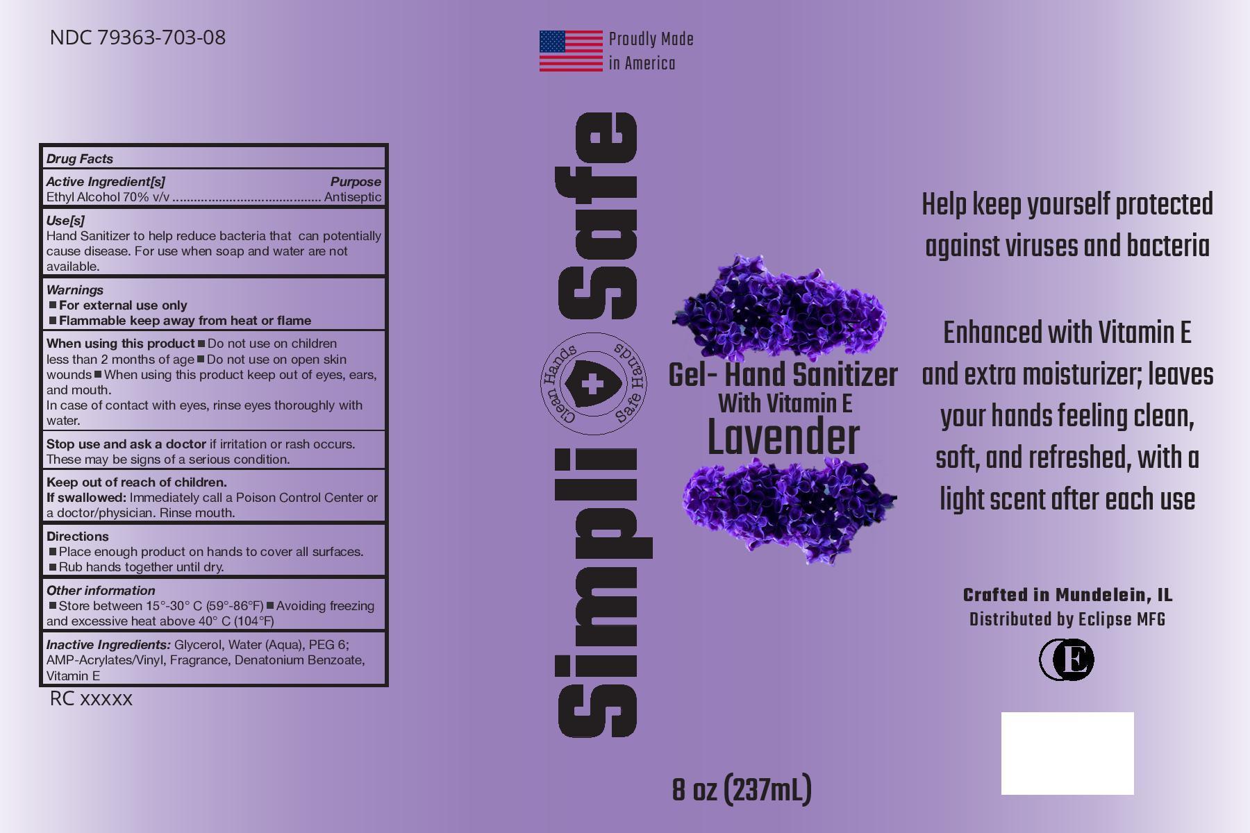 Simpli_Safe_Lavender with Vit E 8oz