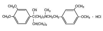 Structure of Verapamil Hydrochloride