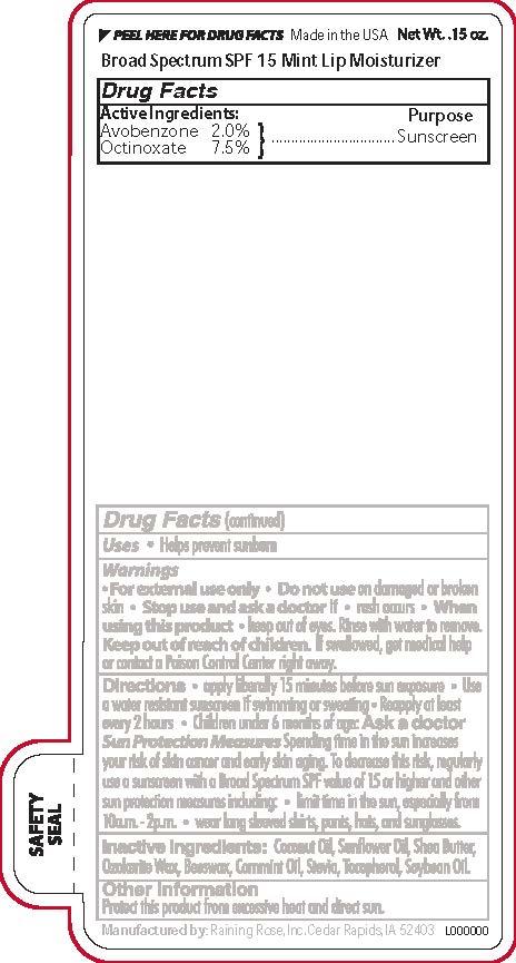 C37802_4imprint mint spf 15 bs Lip Moisturizer