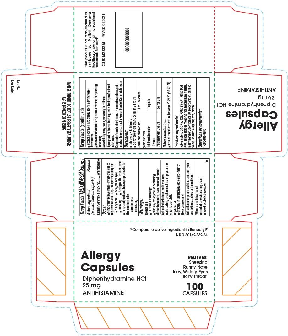 PRINCIPAL DISPLAY PANEL - 25 mg Capsule Bottle Carton