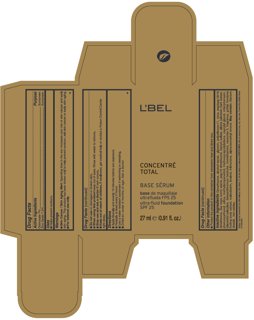 PRINCIPAL DISPLAY PANEL - 27 ml Tube Box - OBSCURE 9 - BEIGE