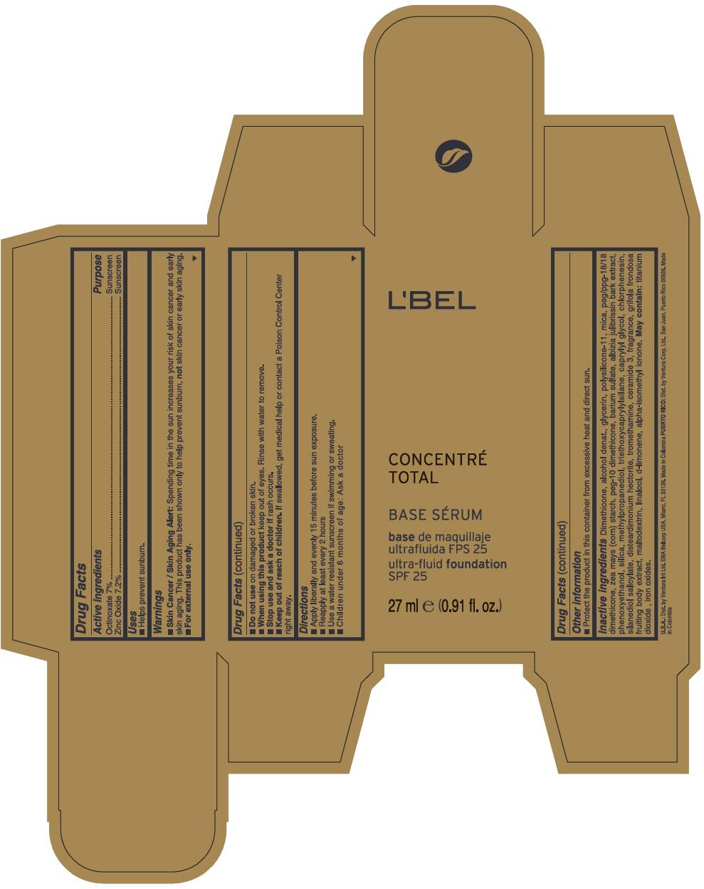 PRINCIPAL DISPLAY PANEL - 27 ml Tube Box - TONO HUT - BEIGE