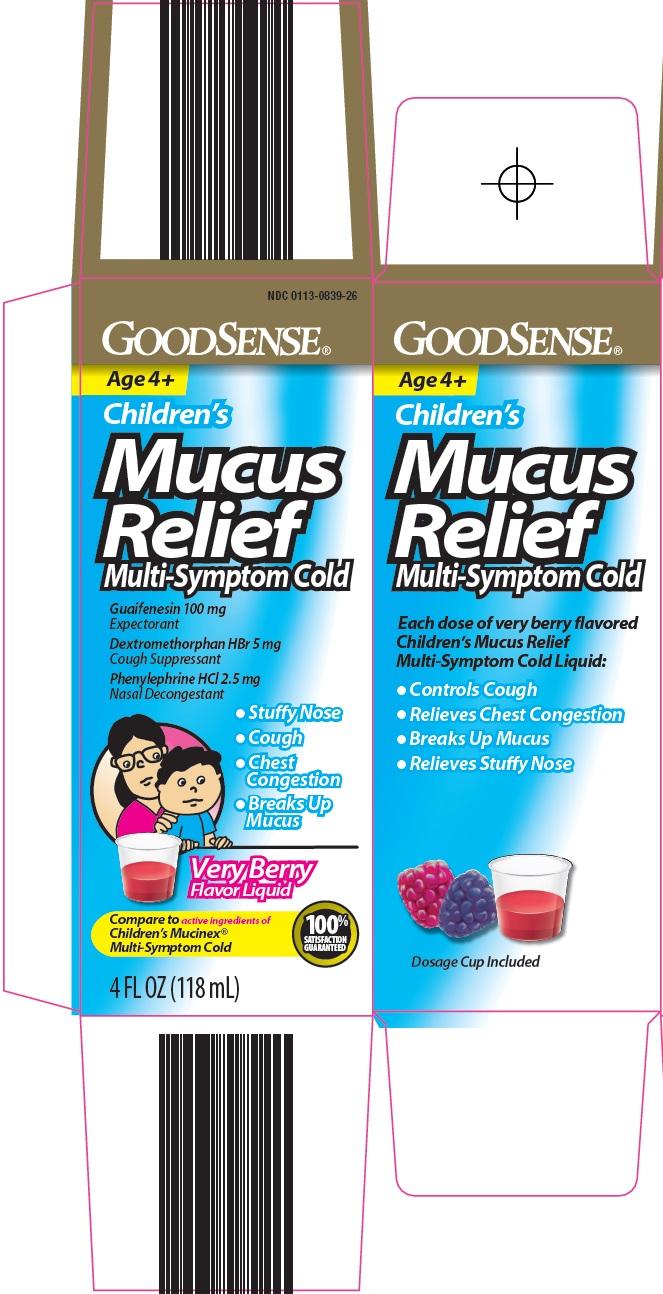 Children's Mucus Relief Carton Image 1