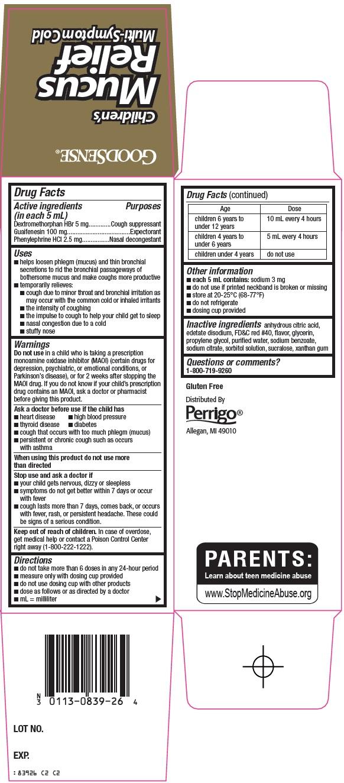 Children's Mucus Relief Carton Image 2