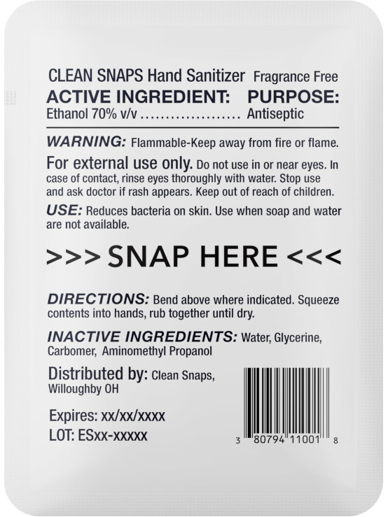 Clean Snap Back V1