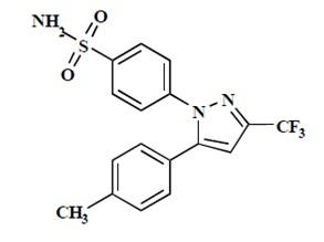 celecoxib-structure
