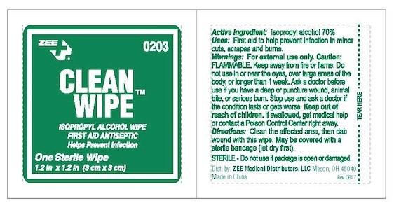 Zee Clean Wipes