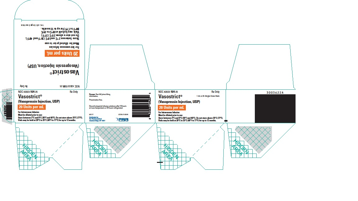 Vasostrict 1 mL Carton
