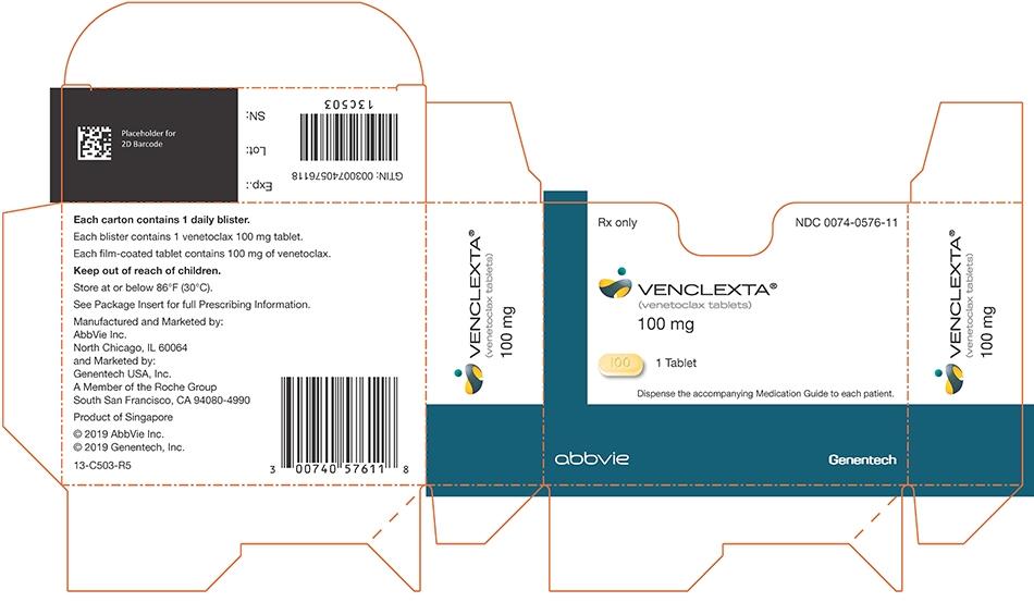 carton-venclexta-100 mg-1 ct