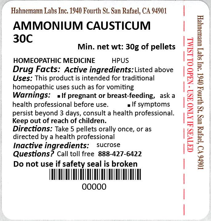 Ammonium Causticum 30C 30g