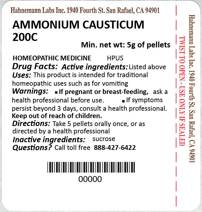 Ammonium Causticum 200C 5g