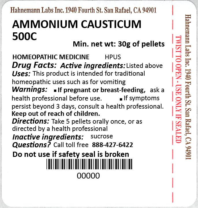 Ammonium Causticum 500C 30g