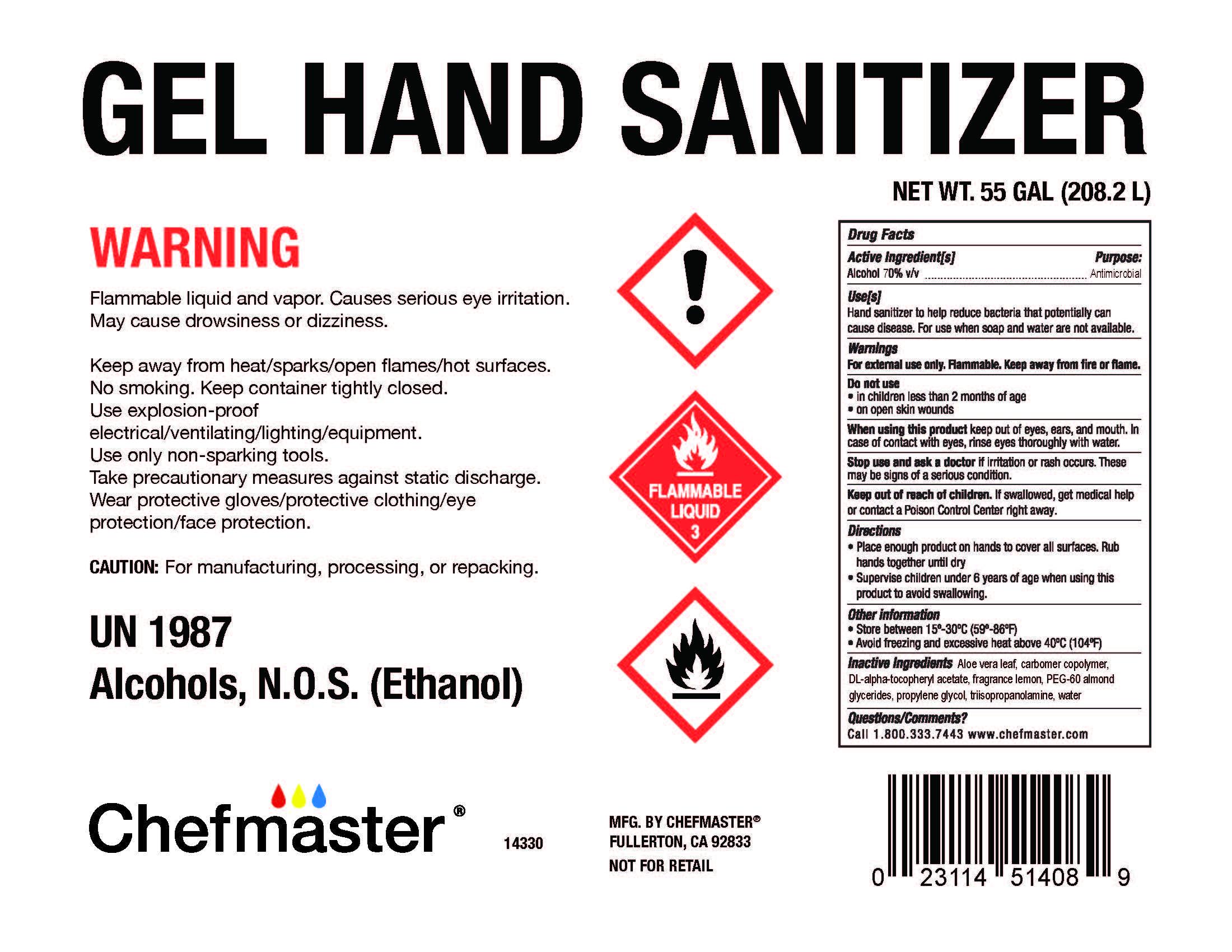 14320 Gel Hand Sanitizer