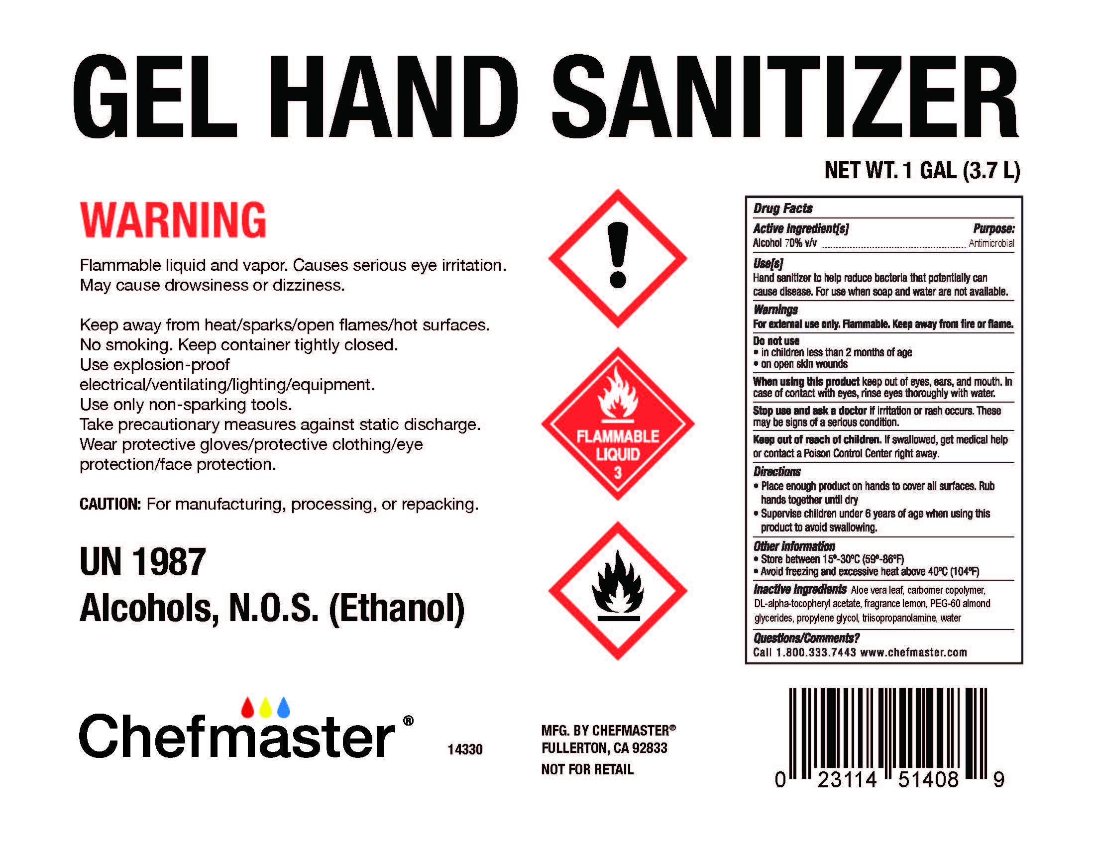 14330 Gel Hand Sanitizer