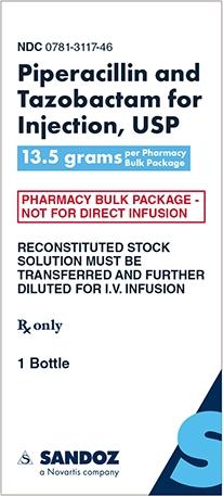 Piperacillin and Tazobactam 13.5 grams Carton