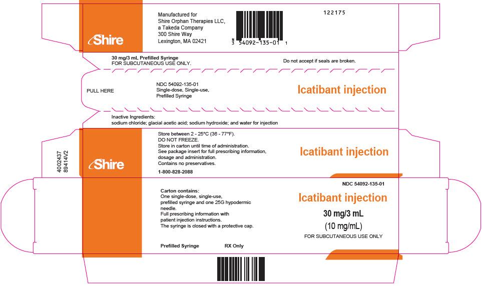 PRINCIPAL DISPLAY PANEL - 3 mL Syringe Carton
