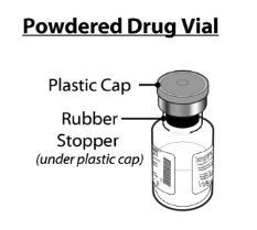 Powdered Drug Vial