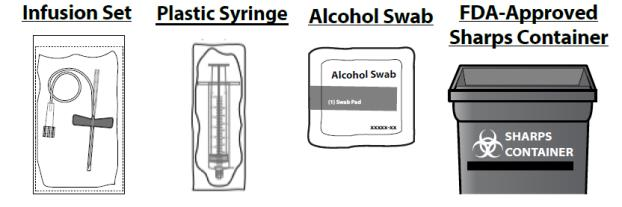 Infusion Set Plastic Syring Alcohol Swab FDA-Approved Sharps Container