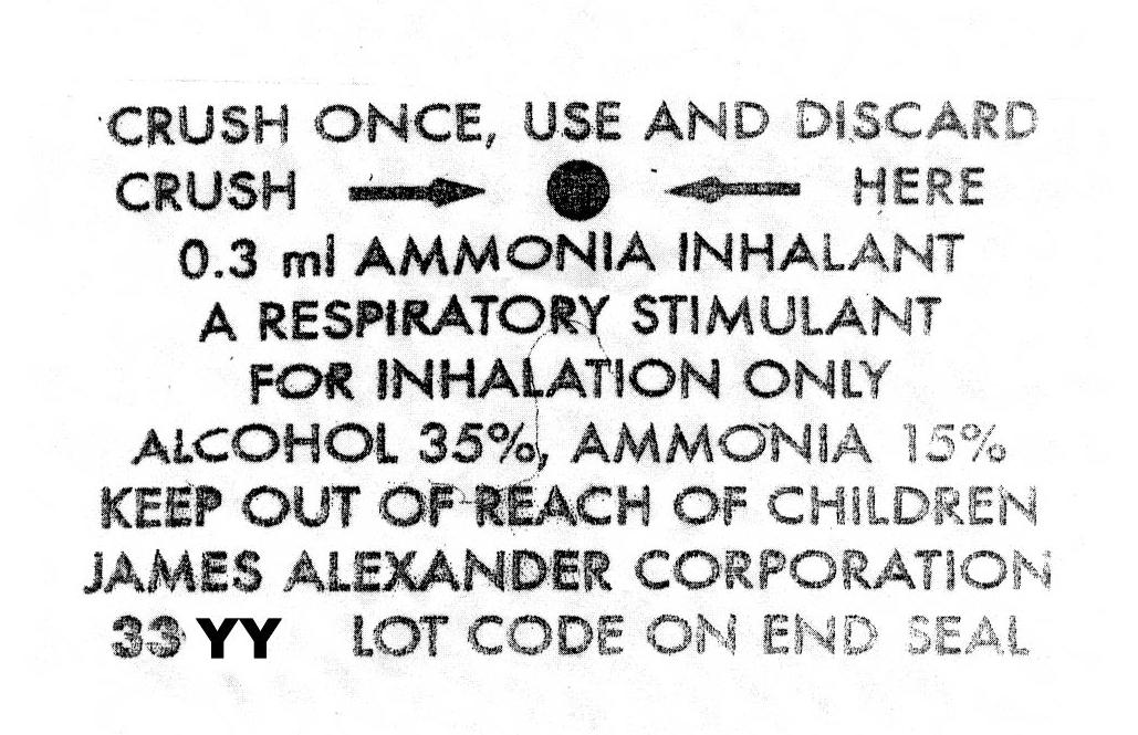 Ampul Label