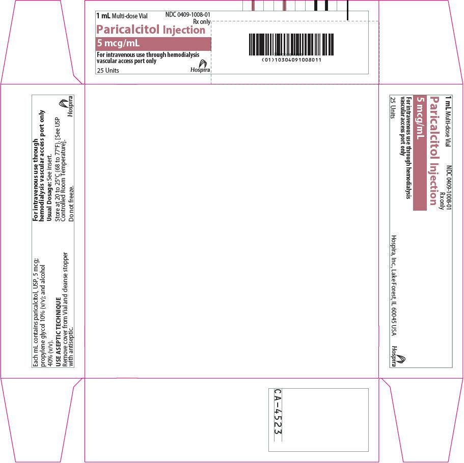 PRINCIPAL DISPLAY PANEL - 5 mcg/mL Vial Carton