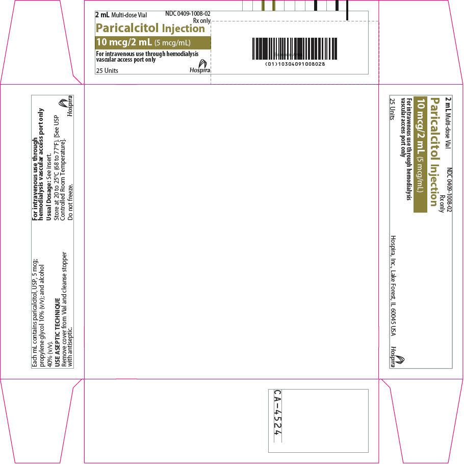 PRINCIPAL DISPLAY PANEL - 10 mcg/2 mL Vial Carton