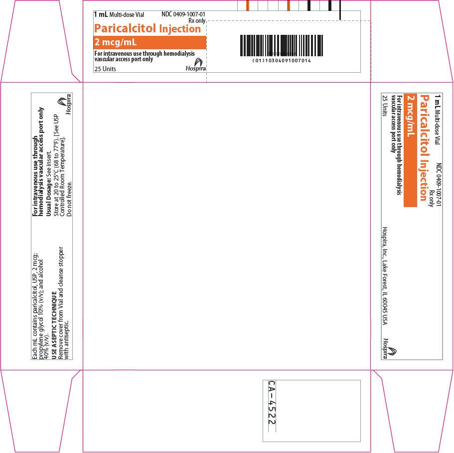 PRINCIPAL DISPLAY PANEL - 2 mcg/mL Vial Carton