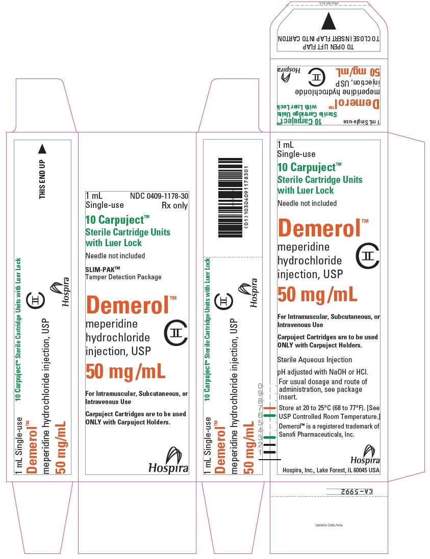 PRINCIPAL DISPLAY PANEL - 50 mg/mL Cartridge Carton