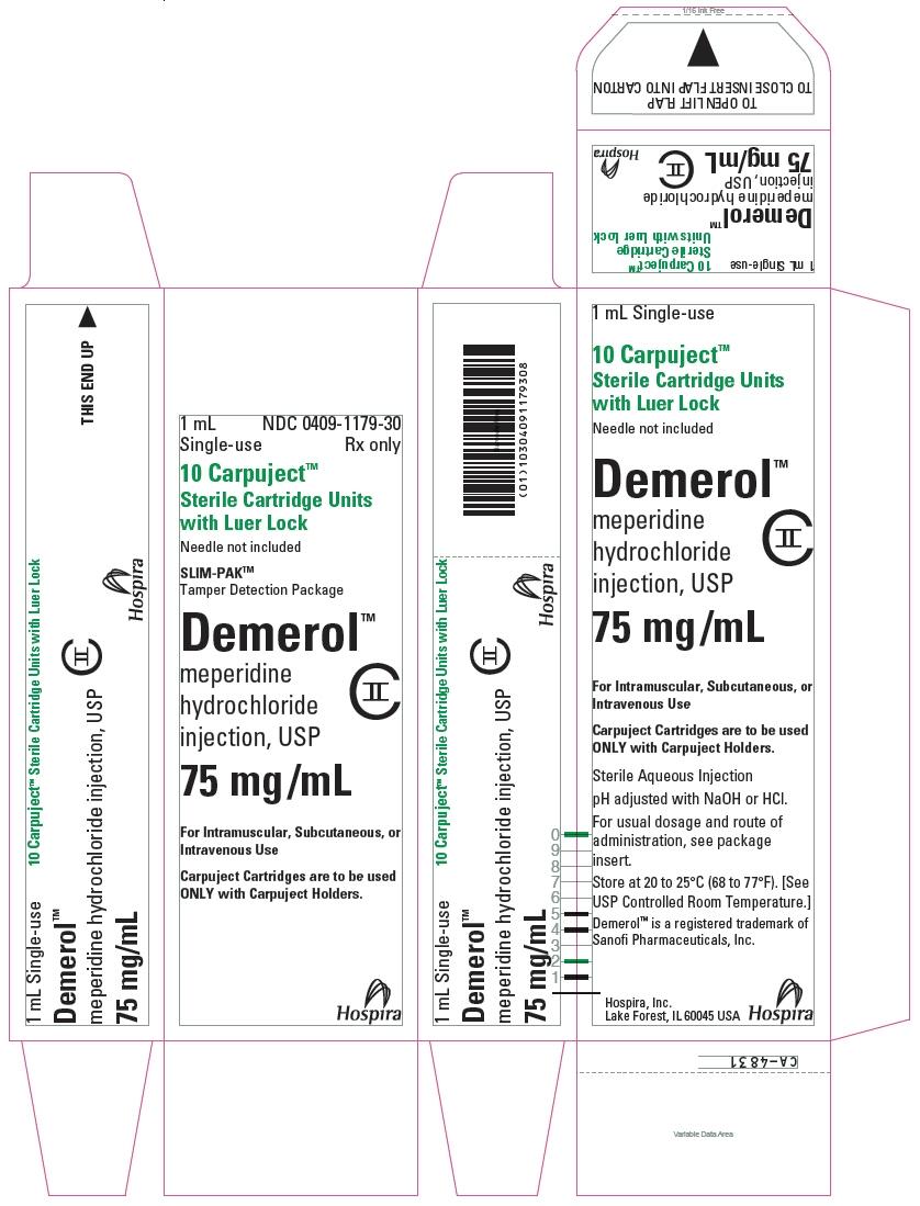 PRINCIPAL DISPLAY PANEL - 75 mg/mL Cartridge Carton