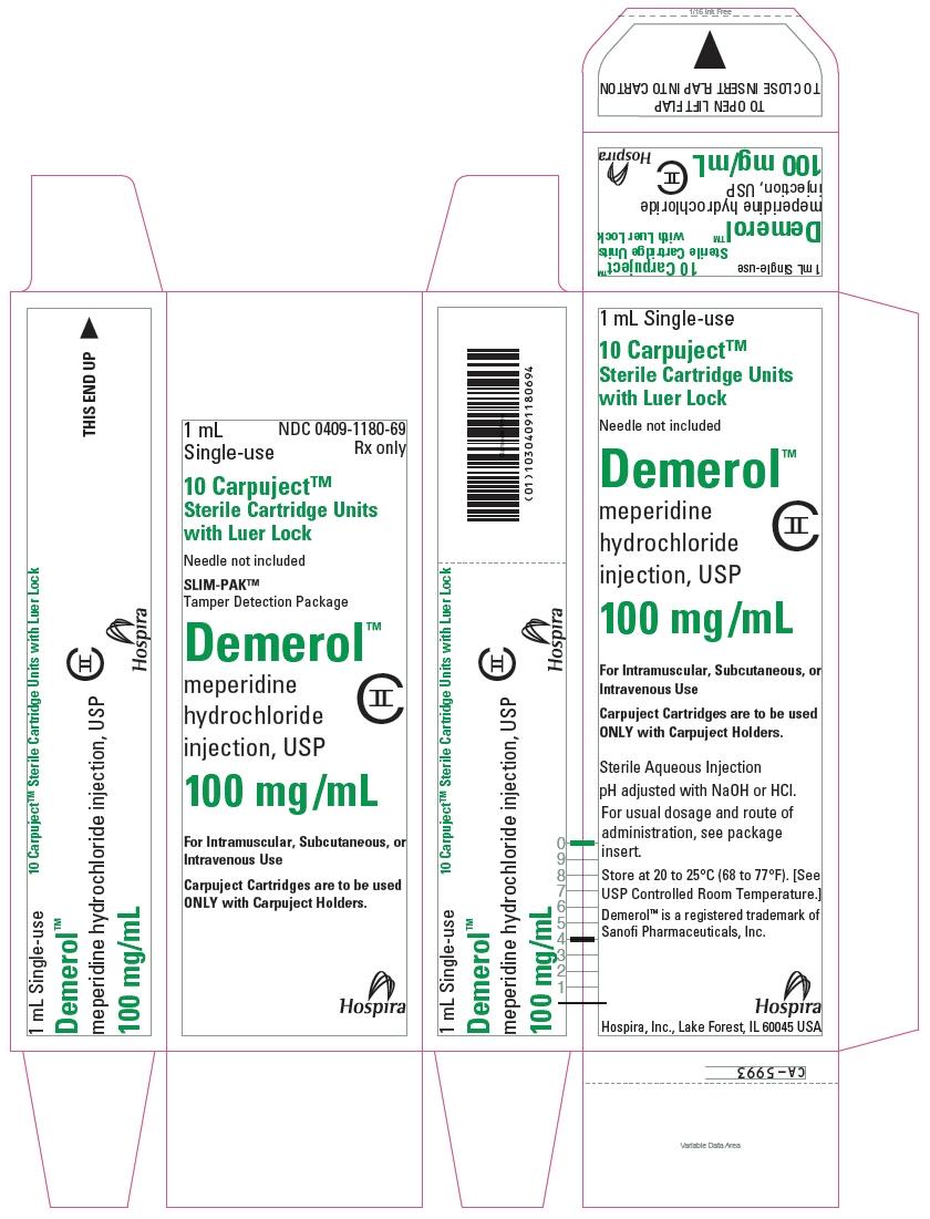 PRINCIPAL DISPLAY PANEL - 100 mg/mL Cartridge Carton