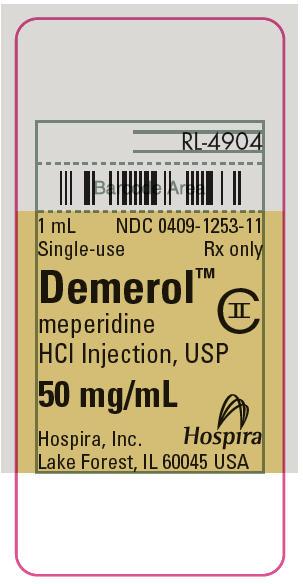PRINCIPAL DISPLAY PANEL - 50 mg/mL Ampule Label