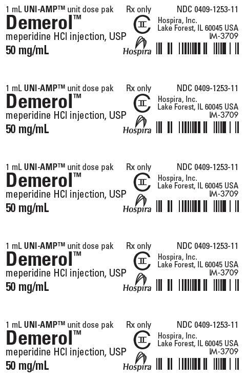 PRINCIPAL DISPLAY PANEL - 50 mg/mL Ampule Dose Pak