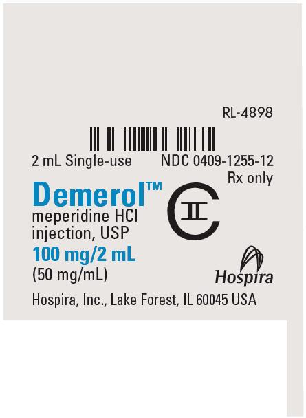 PRINCIPAL DISPLAY PANEL - 100 mg/2 mL Ampule Label