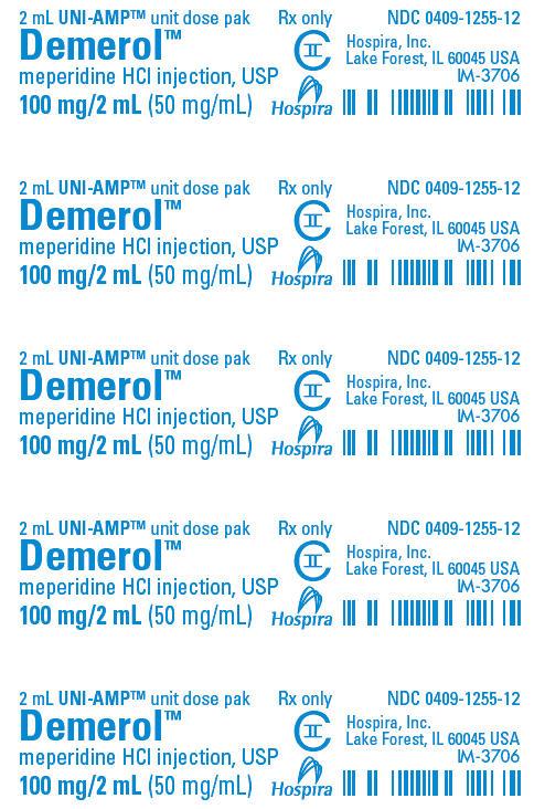 PRINCIPAL DISPLAY PANEL - 100 mg/2 mL Ampule Dose Pak