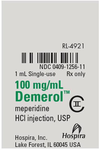PRINCIPAL DISPLAY PANEL - 100 mg/mL Ampule Label