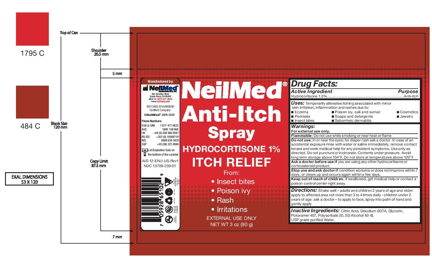 NeilMed Anti-Itch Spray