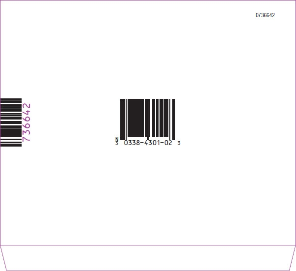 Tisseel Lyo 2mL Representative Sleeve Label 4 of 4  NDC: <a href=/NDC/0338-4301-02>0338-4301-02</a>