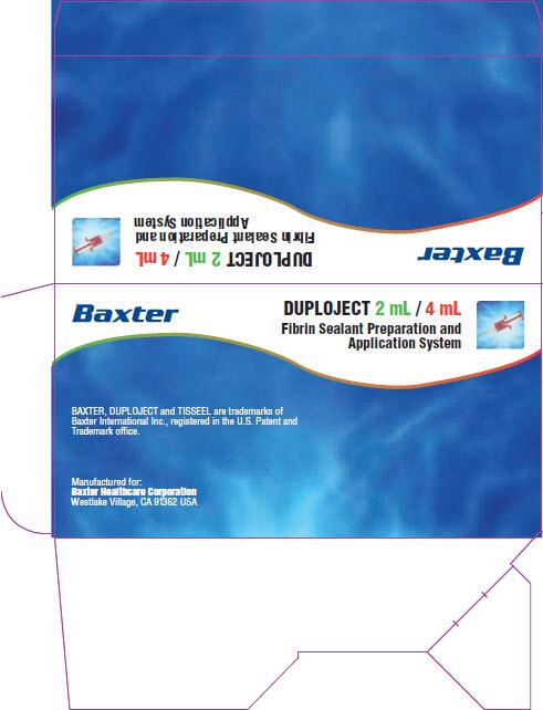 Tisseel Lyo 2 mL - 4 mL DUPLOJET Repesentative Label 1 of 4