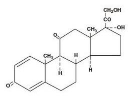 Prednisone Structure