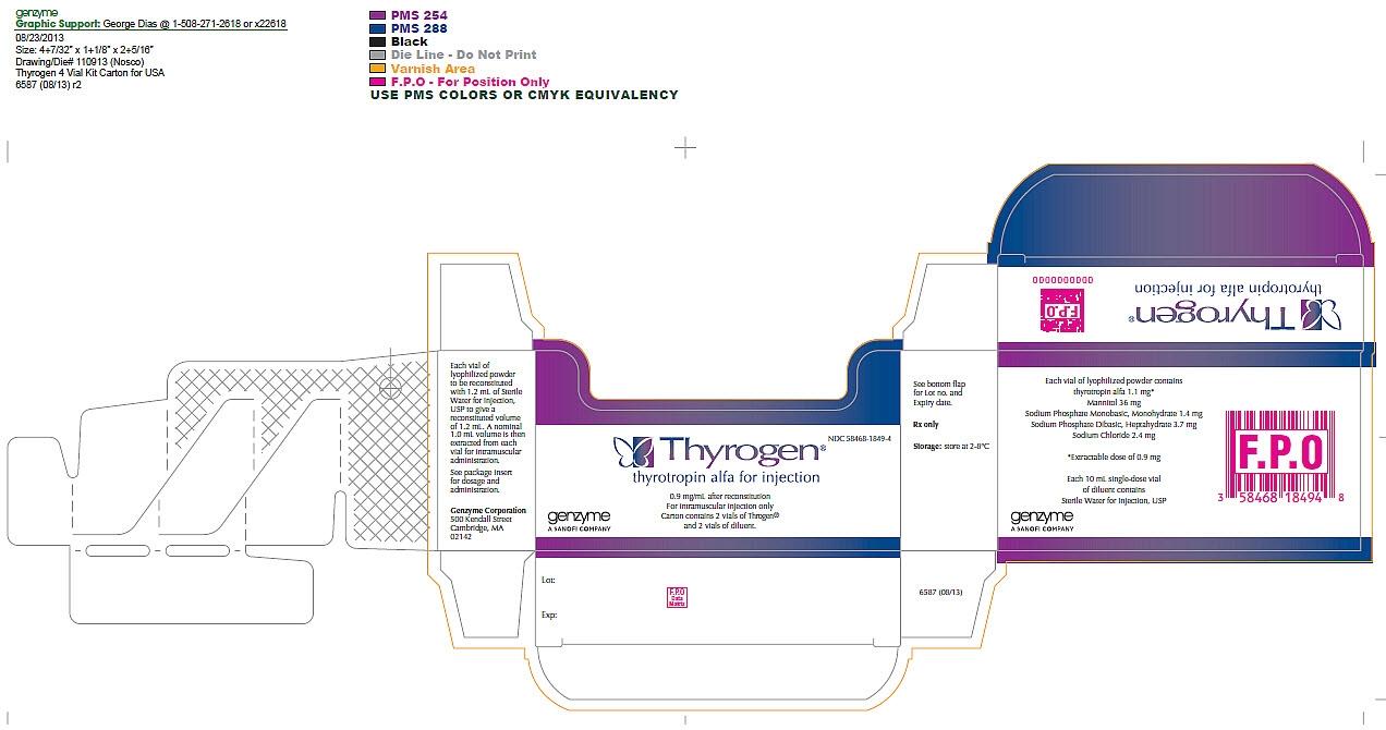 Package Label - Principal Display Panel – 4 vial Carton